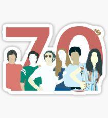 That 70s Show - Retro Look Sticker