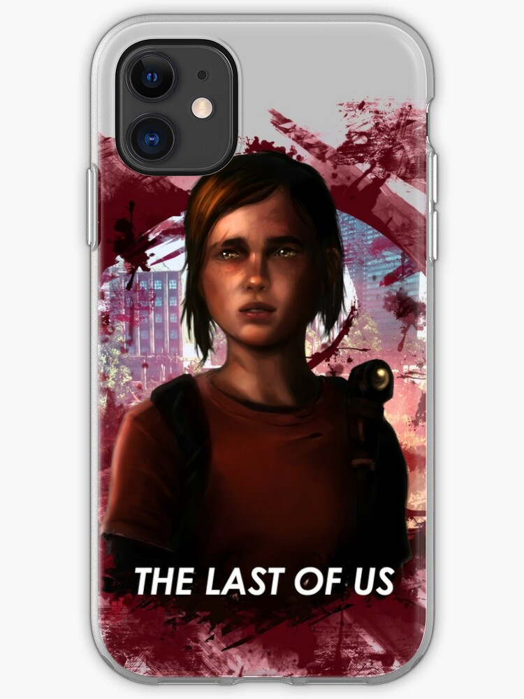 Ellie The Last Of Us Iphone Case By Pachorriento