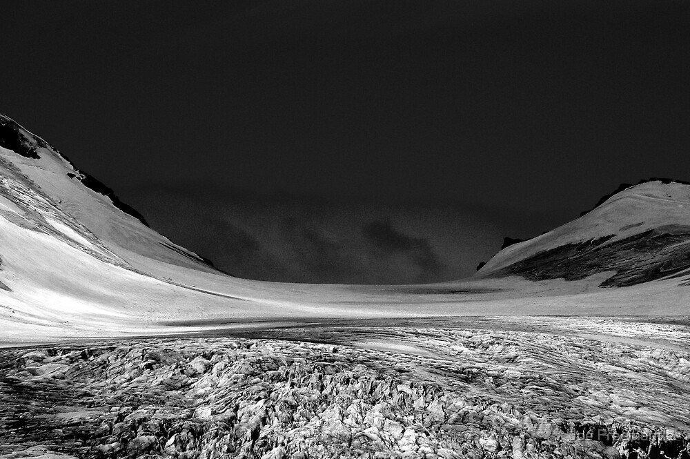 Black Glacier by Joe Freemantle