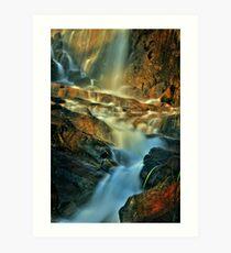 lesmurdie falls Art Print