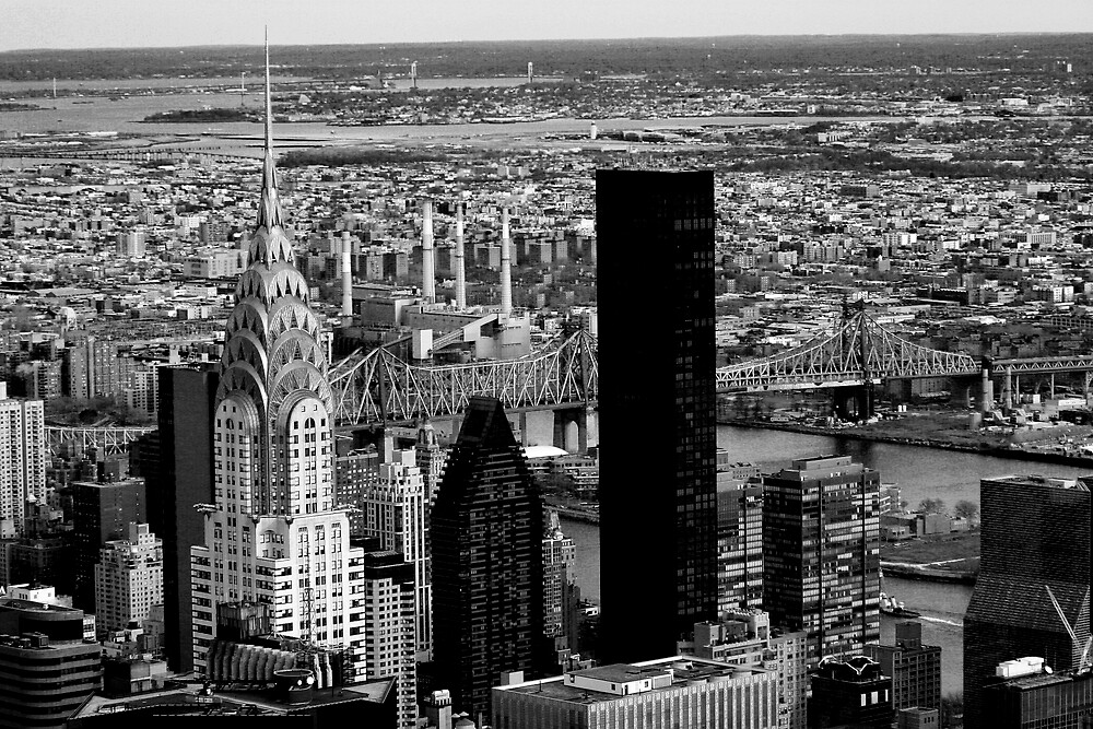 New York cityscape by Xpresso