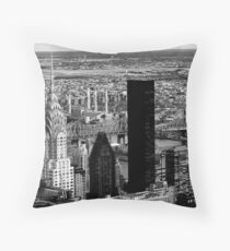 New York cityscape Throw Pillow