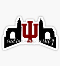 Indiana University Gates Sticker