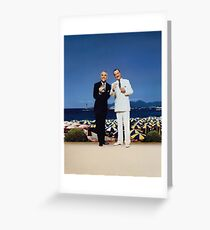 Dirty Rotten Scoundrels Greeting Card