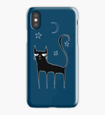 A Black Cat iPhone Case