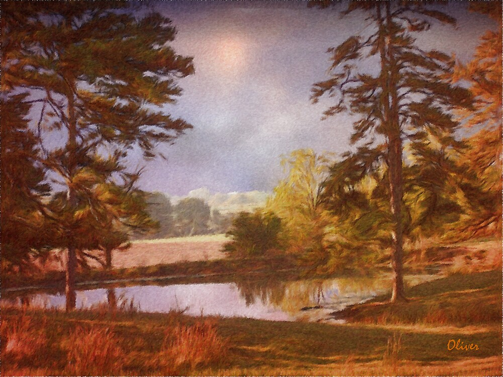 Morning By The Pond by Charles Oliver