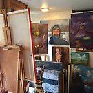 In My Studio by Randy Burns