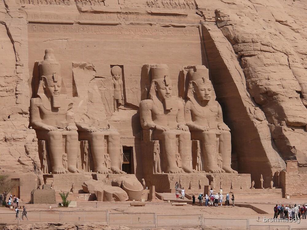 Abu Simbel by brummieboy