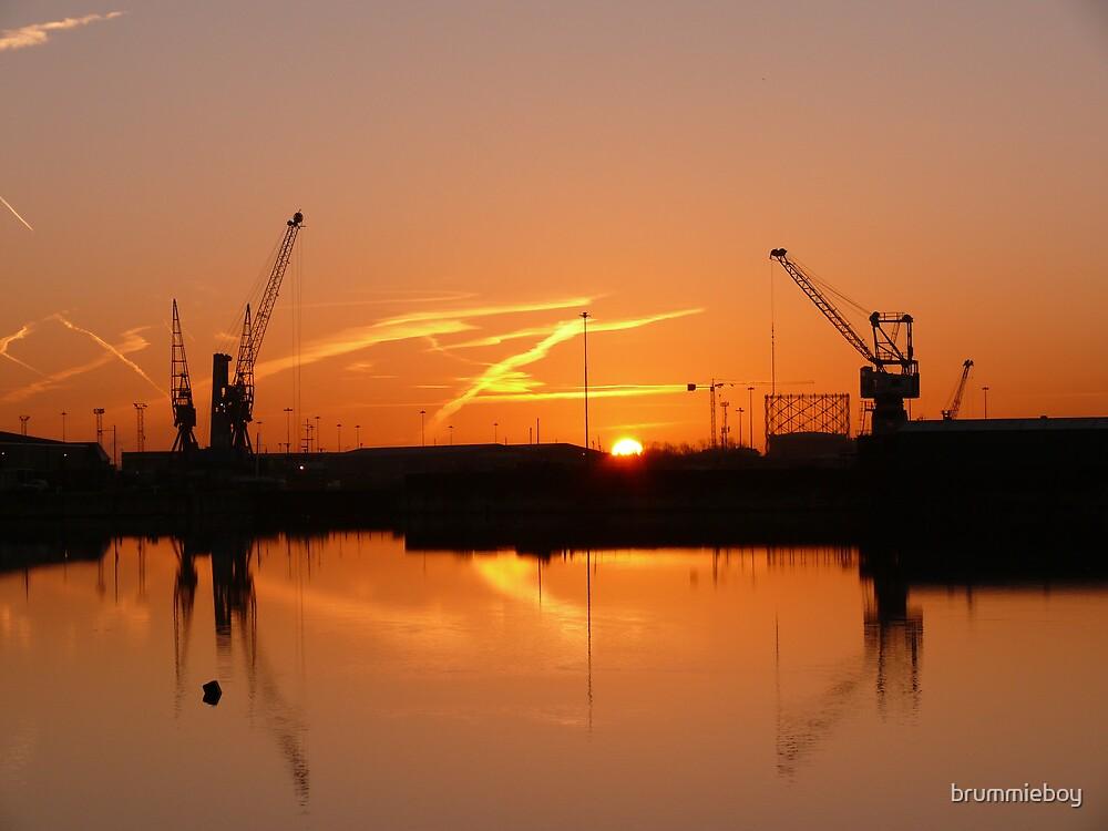 Industrial Sunrise (2) by brummieboy