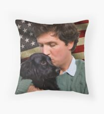 Tucker Carlson #19 Throw Pillow