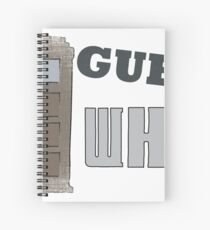 Guess Who? Spiral Notebook