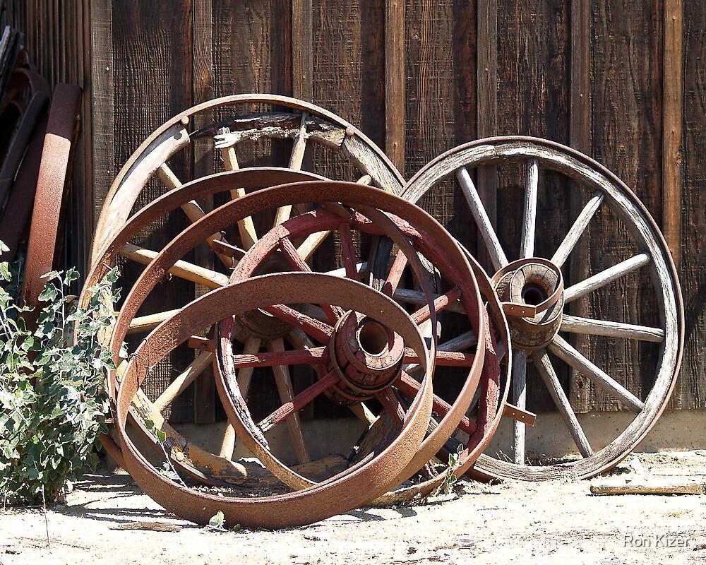 Wagon Wheels by Ron Kizer