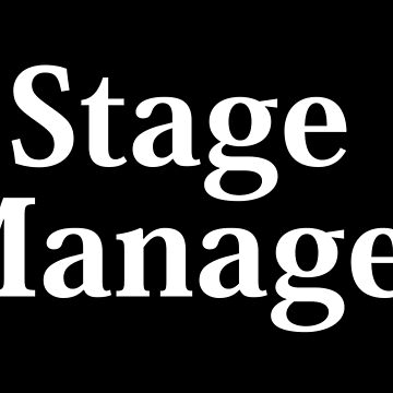 Stage Manager - White Text by flyingdefying