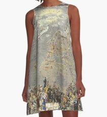 'Mer Libre. Le Tour du Monde en un Clin d'Oeil A-Line Dress