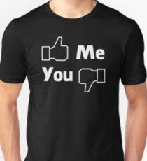 Like and dislike Unisex T-Shirt