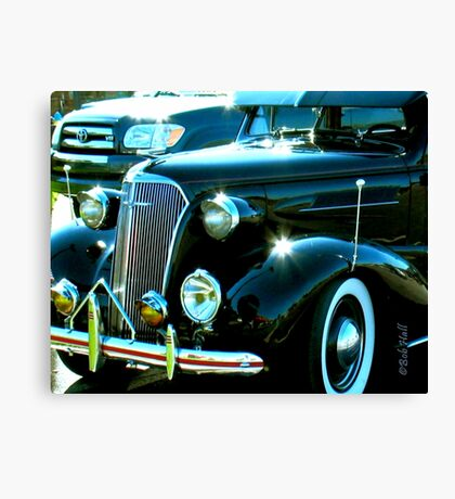 """Classic Black""... prints and products Canvas Print"