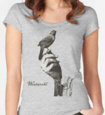 westworld 1 Women's Fitted Scoop T-Shirt