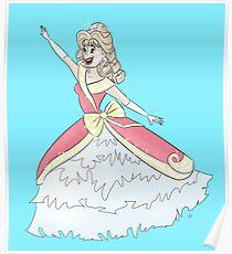 Dream Big, Princess Poster