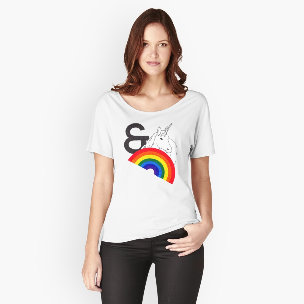 Rainbows & Unicorns Relaxed Fit T-Shirt