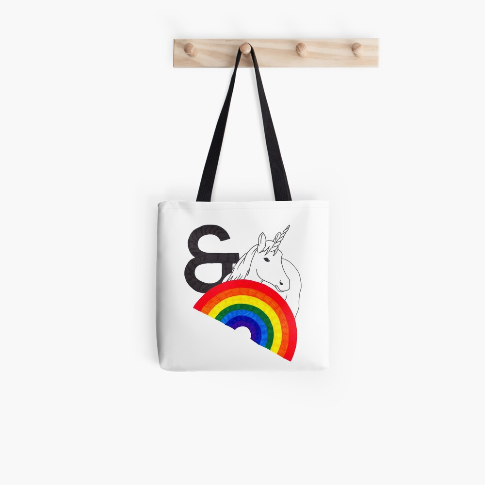 Rainbows & Unicorns Tote Bag