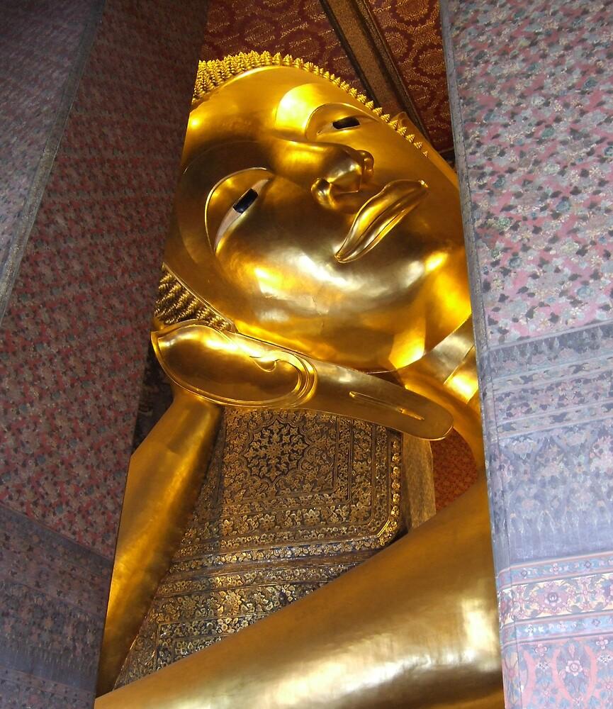 Reclining Buddha by IslandImages