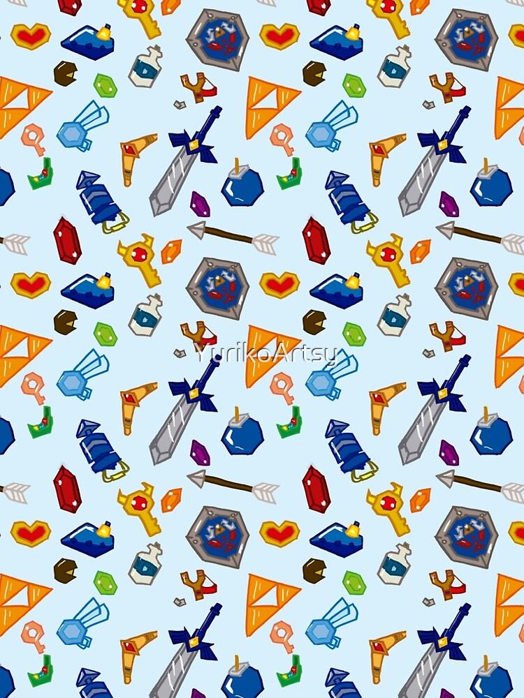 Zelda ocarina of time pattern de YurikoArtsy