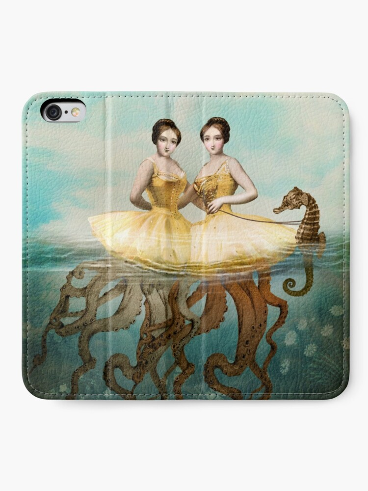 Alternate view of The Sirens iPhone Wallet
