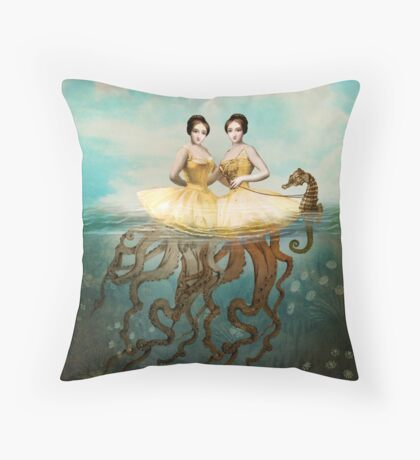 The Sirens Throw Pillow
