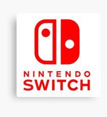 Nintendo Switch Canvas Print