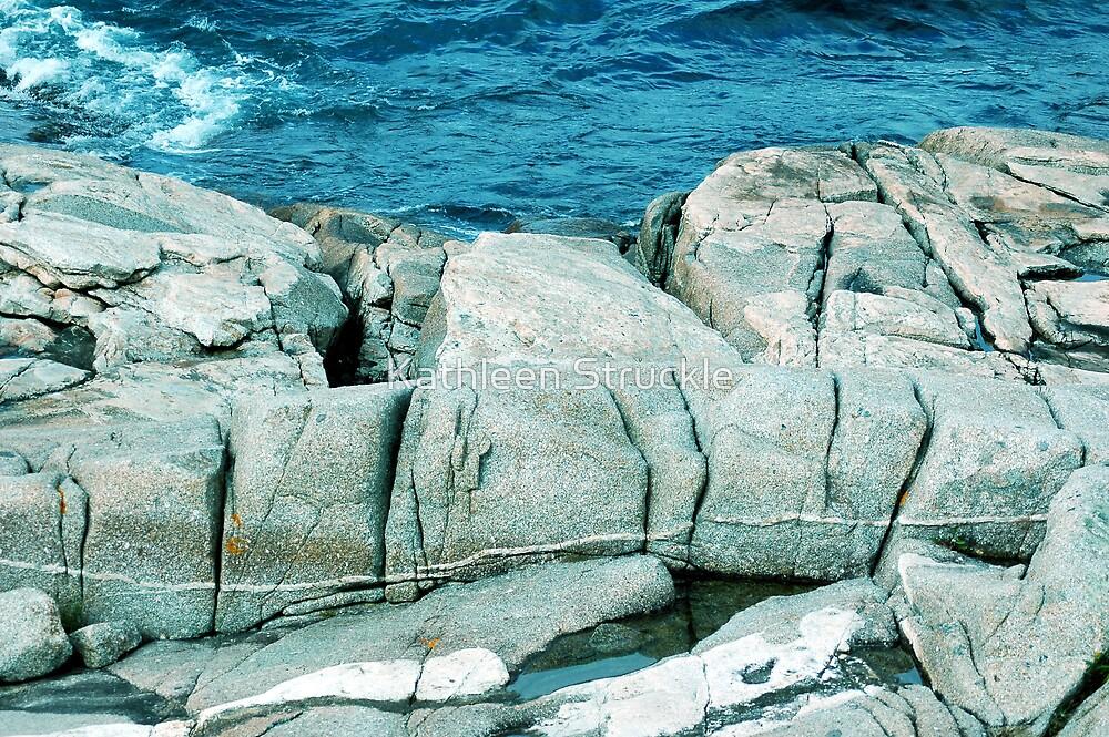 Large Rocks by Kathleen Struckle