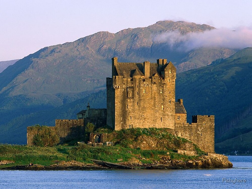 Eilean_Donan_Castle by Fishyhere