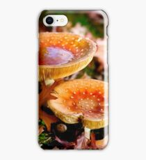 Fairytale Mushrooms in the forrest iPhone Case/Skin
