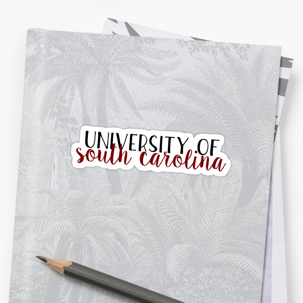 Quot University Of South Carolina Style 2 Quot Stickers By
