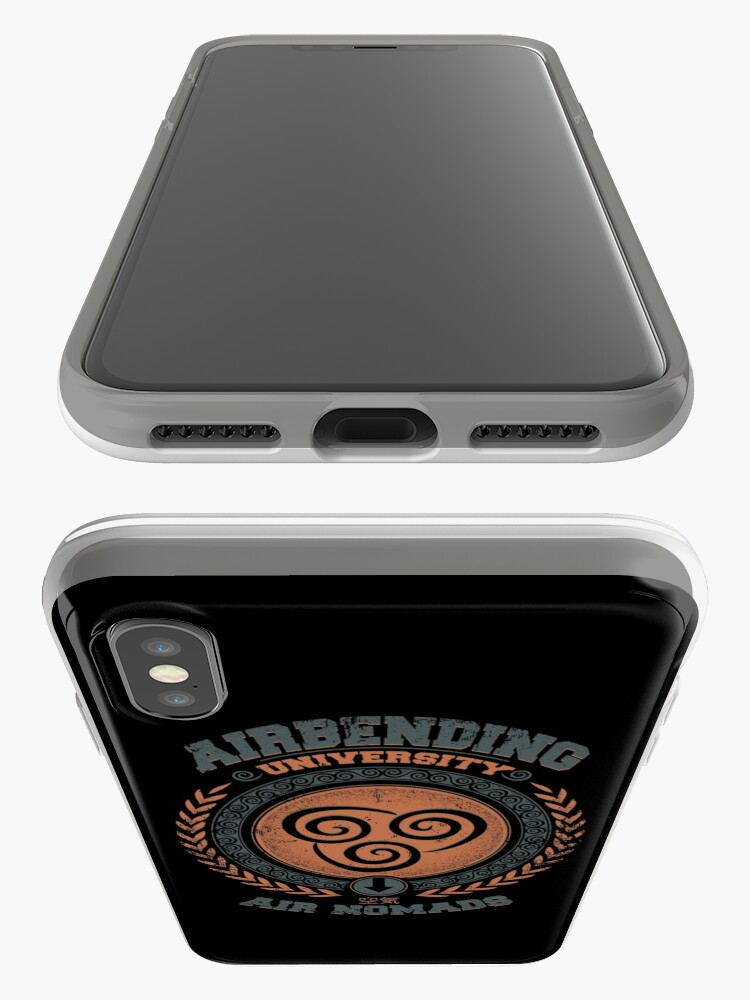 Alternate view of Airbending university iPhone Cases & Covers