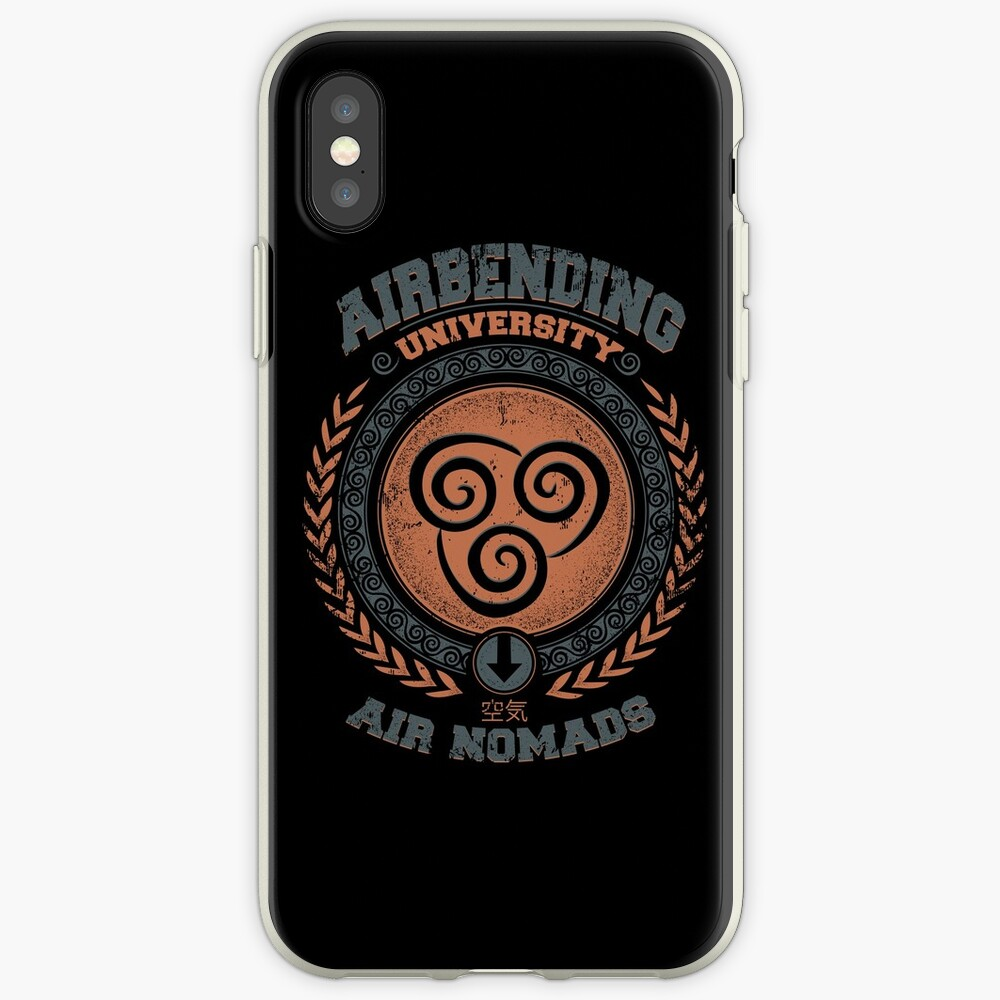 Airbending university iPhone Cases & Covers