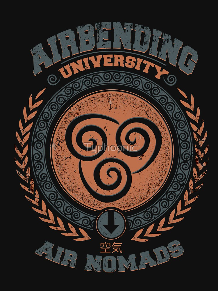 Airbending university by Typhoonic
