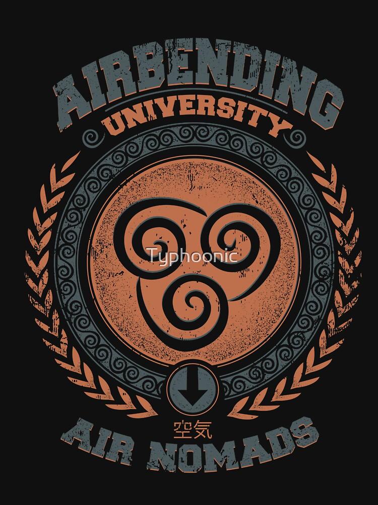 Airbending university by Typhoonic
