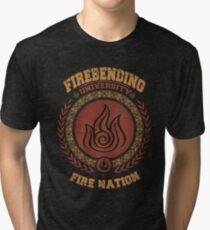 Firebending university Tri-blend T-Shirt