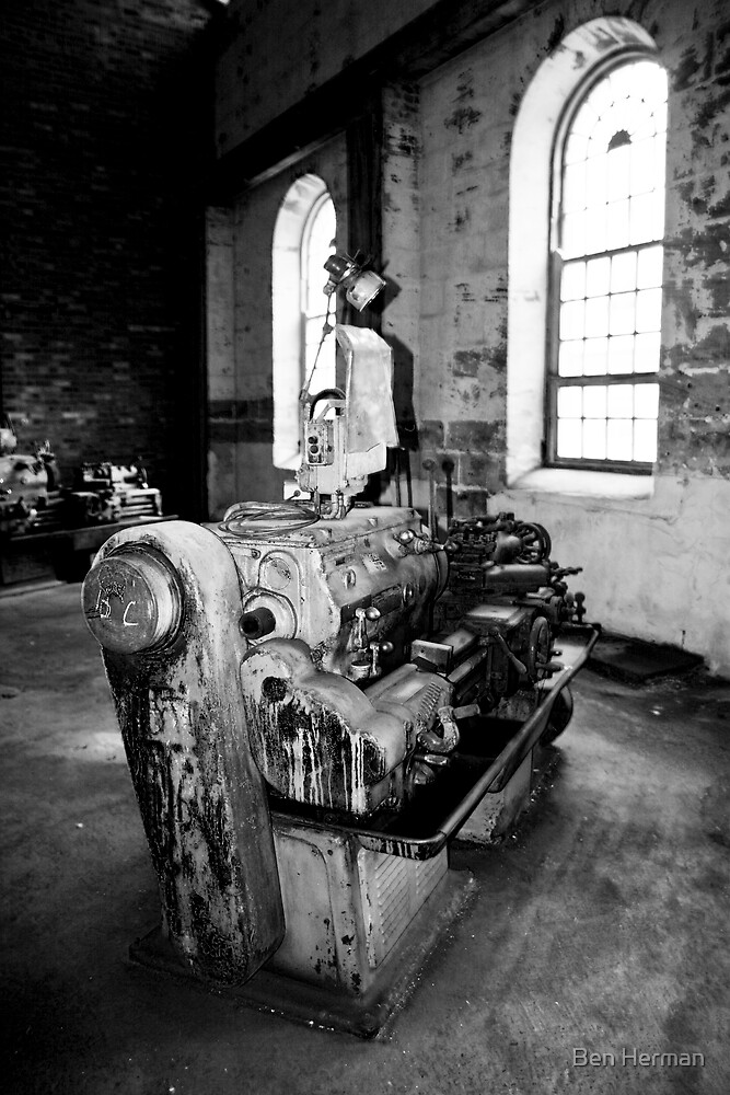 Lathe (Cockatoo Island) by Ben Herman