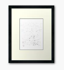 Manchild Club Framed Print