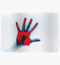 Handprint Poster