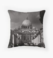 St Peters Cathedral, Rome Throw Pillow