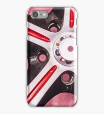 Red Rims iPhone Case/Skin