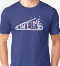 Safty Pin (safe with me) Unisex T-Shirt