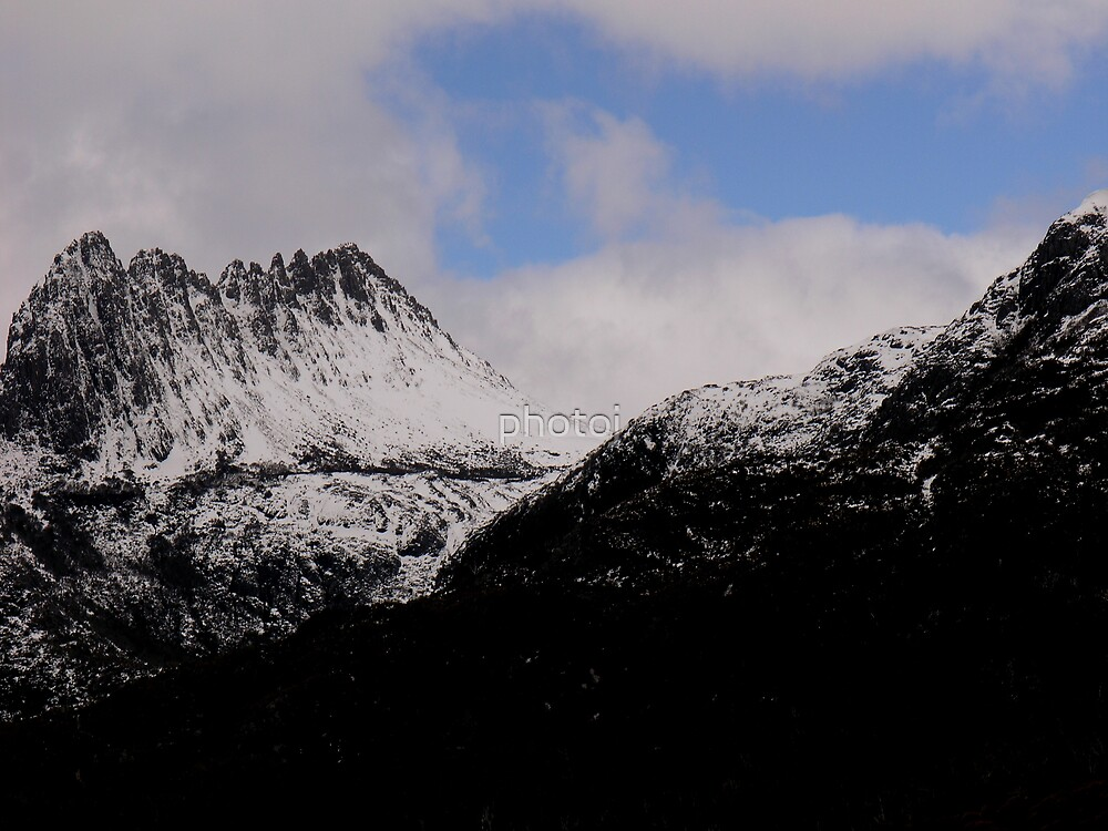 Tasmania 'The Snowy Cradle Mt' by photoj