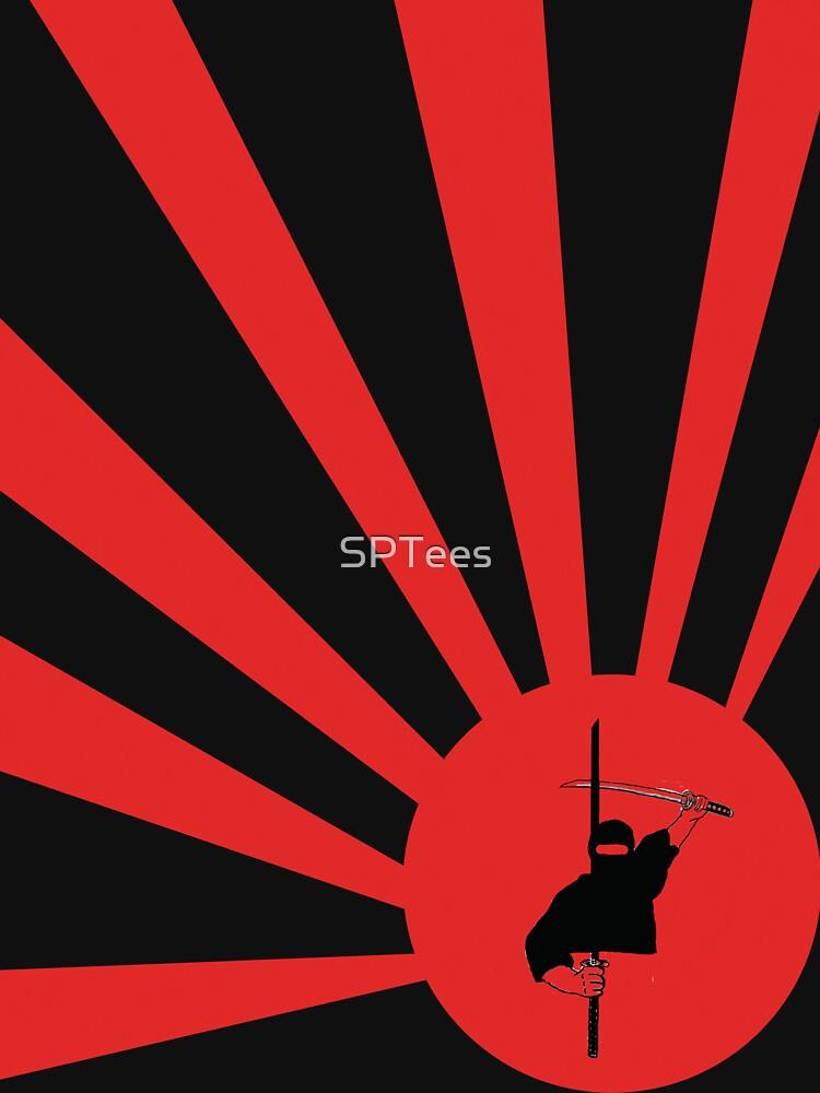 Samurai Sun by SPTees