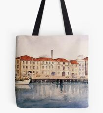 IXL Buildings Hobart by M Sluce Tote Bag