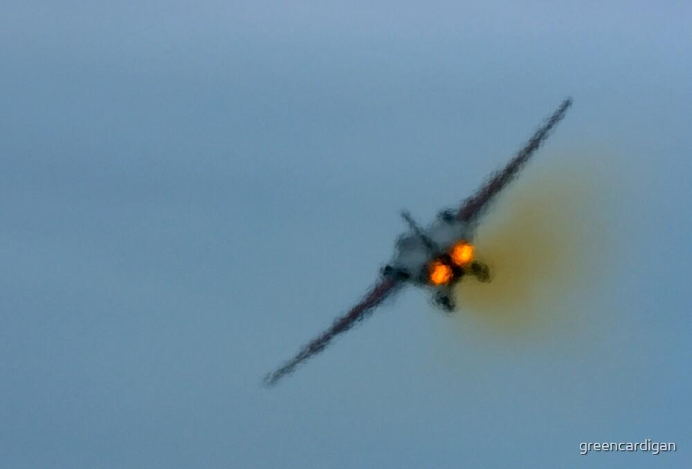 F-111 Exhaust Haze by greencardigan