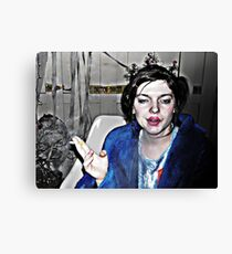 Highly Flammable  Canvas Print