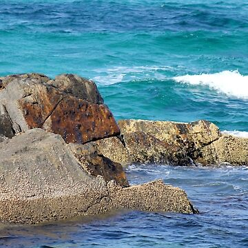 Rocks by the Sea by LifeisDelicious